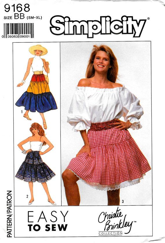Vintage Simplicity Easy SEWING Pattern 9168 3 by SammyJoPatterns