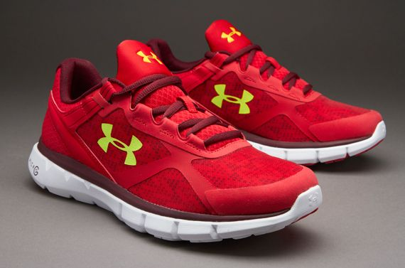 Under Armour Micro G Velocity RN - Red  11d0ee0f1643