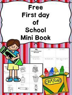 Kindergarten Back to School Interview Book and Scavenger Hunt | Home ...