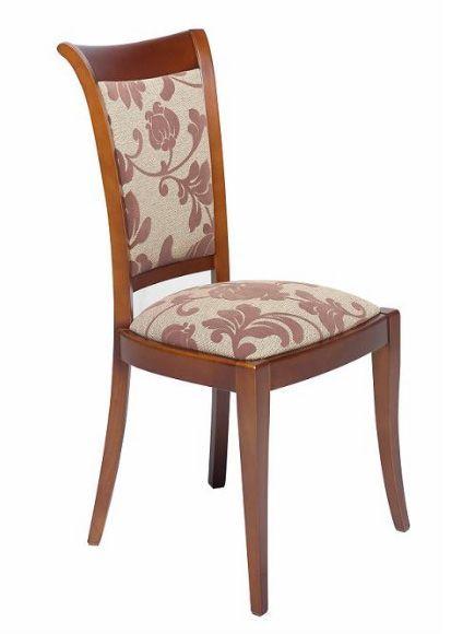Sillón de comedor tapizado 18 - Silla de madera para comedor estilo ...