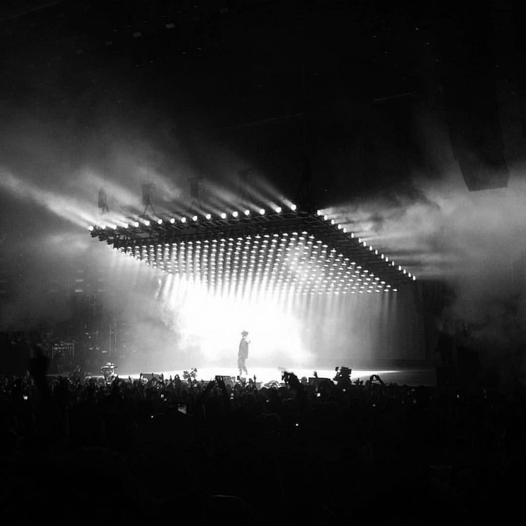 Behind The Scenes By Virgilabloh In 2020 Concert Stage Design Stage Lighting Design Stage Set