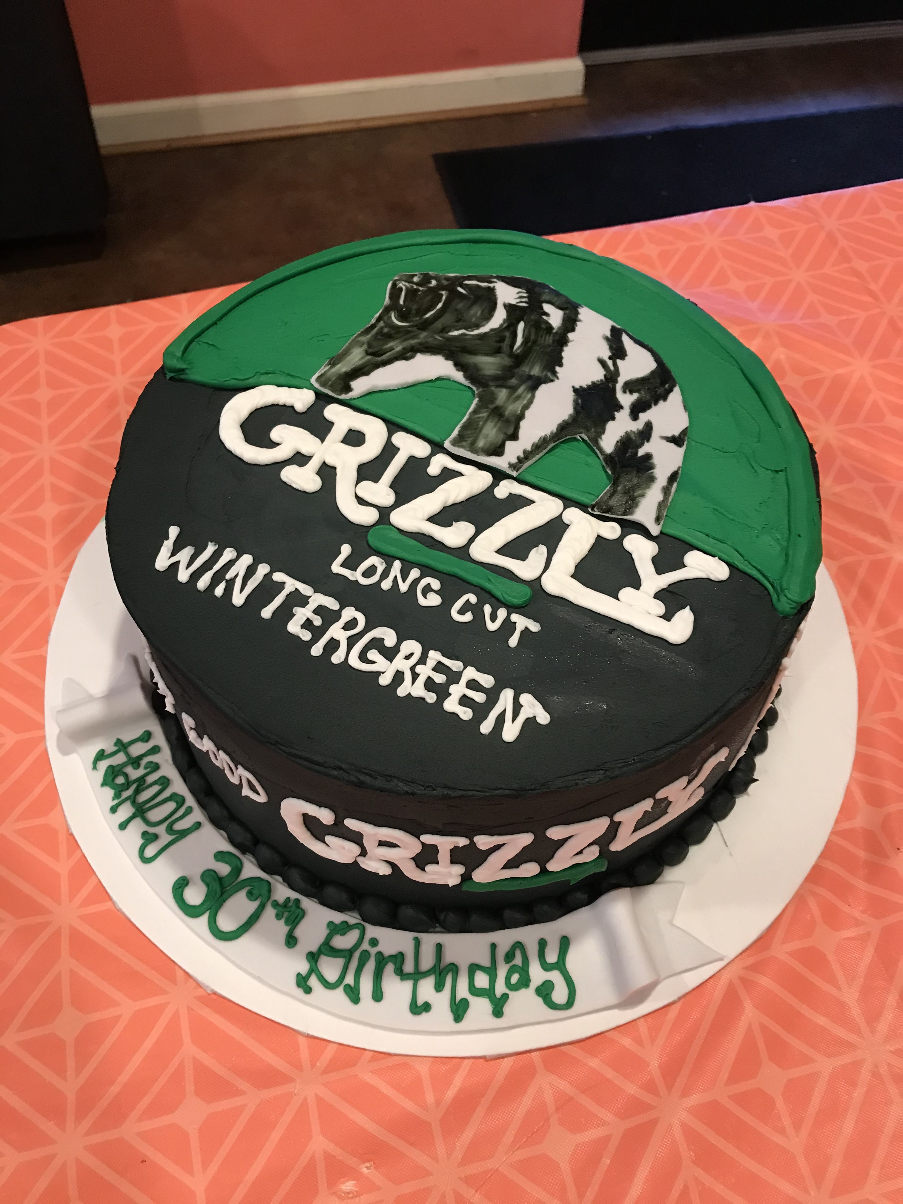 Grizzly dip can cake sweet dreams bakery cake in a can