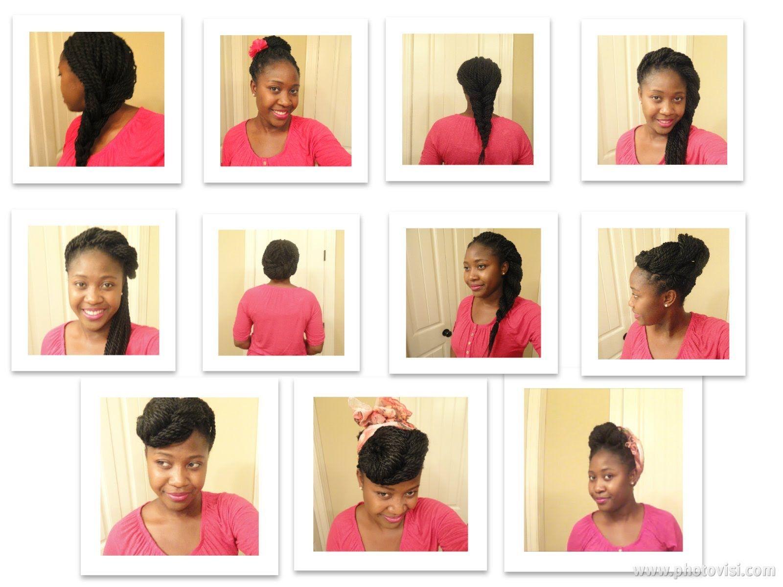 Senegalese Twist Styles   Natural Hairspiration   Pinterest ...