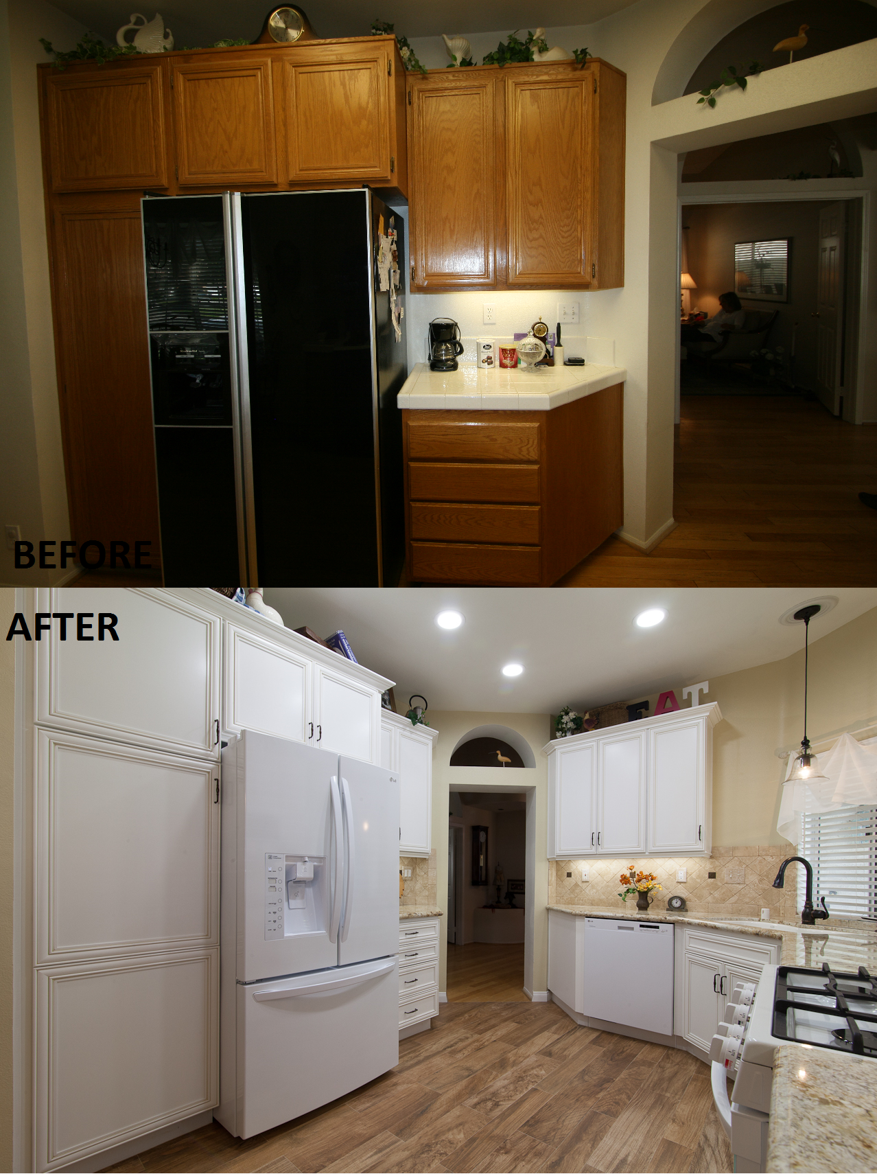 Kitchen Remodel Done By Kitchens Etc Of Ventura County. HomeCrest Cabinetry  In The Madison Door
