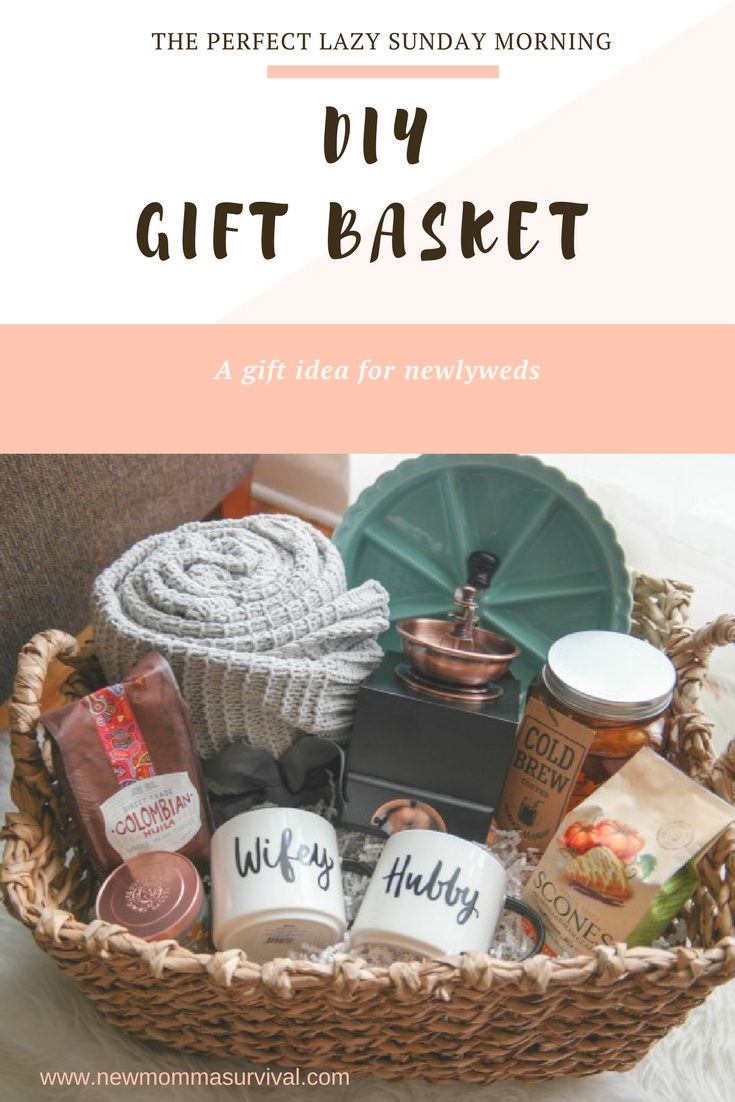A cozy morning gift basket a perfect gift for newlyweds gifts a simple and beautiful gift basket idea great for newlyweds or new home owners negle Choice Image