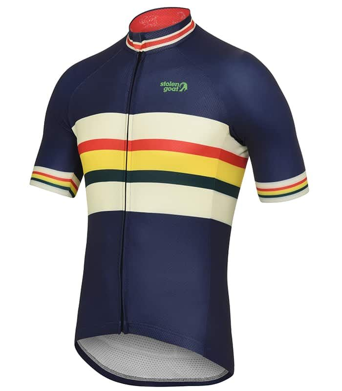 The stolen goat Harris jersey is brand new for SS18. Based on our  outstanding Bodyline Jersey that fits just-so and with a retro Navy design  on top - be the ... 500b5b477