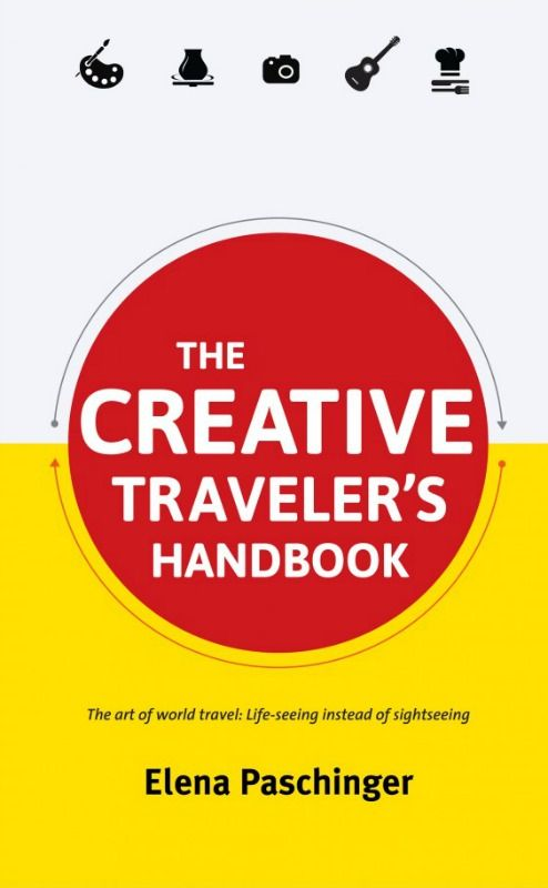 """Elena Paschinger, author of The Creative Traveler's Handbook, has travelled the four corners of the globe seeking out creative experiences that bring her closer to local cultures. She's wrapped all of this experience up in this new travel guide, and coupled it with tips to inspire and help you enjoy more immersive and authentic travels. It's """"the art of world travel: life-seeing instead of sight-seeing"""" and is one of our ultimate Christmas gifts and gadgets for world travellers."""