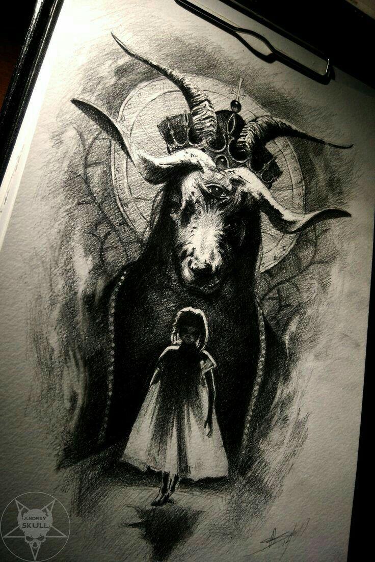 Dark Satanic Tattoo Designs