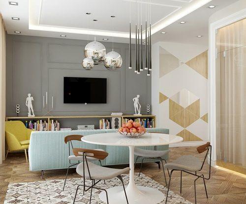Classic Apartment Design By Blending Contemporary Scandinavian ...