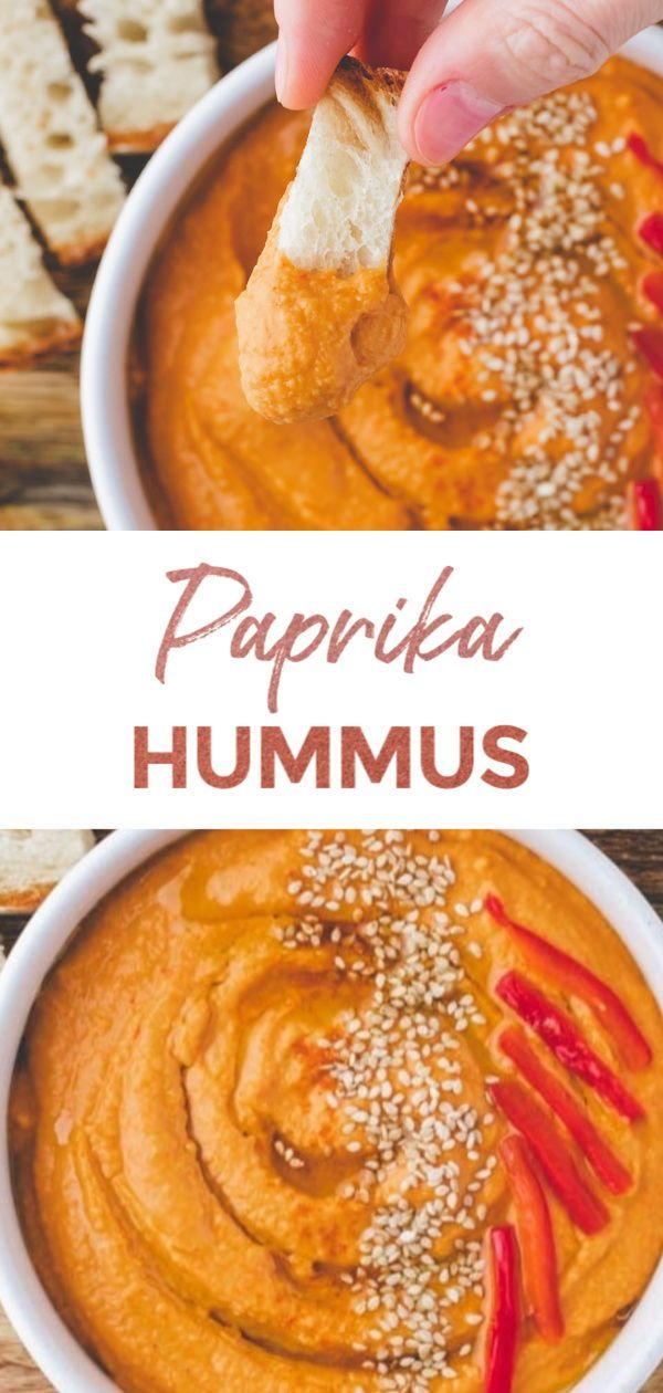 Paprika Hummus