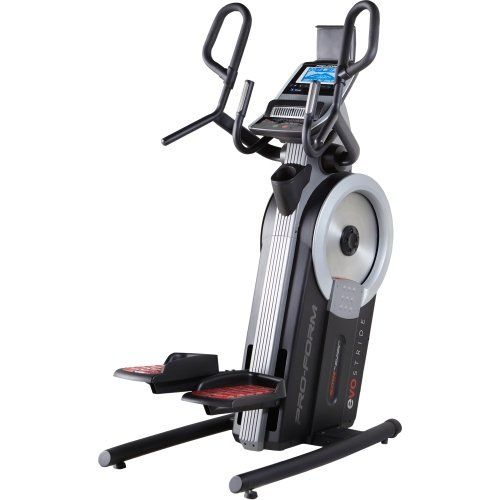 feel the burn when you step up on the proform cardio hiit trainer between 24 resistance levels and the 4 in elliptical path your legs will get a great