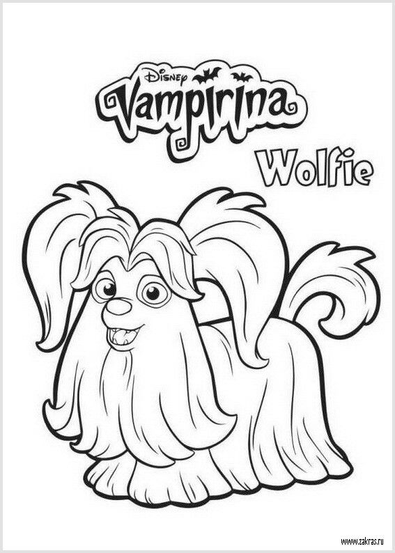 Pin De Godoys En Pintar Vampirina Dibujos Para Colorear