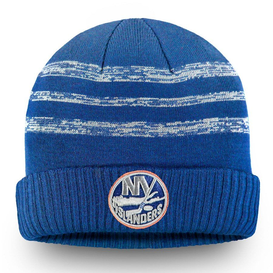 the latest e7d89 a2a36 Men s New York Islanders Fanatics Branded Blue Authentic Pro Clutch Cuffed  Knit Hat, Your Price   27.99