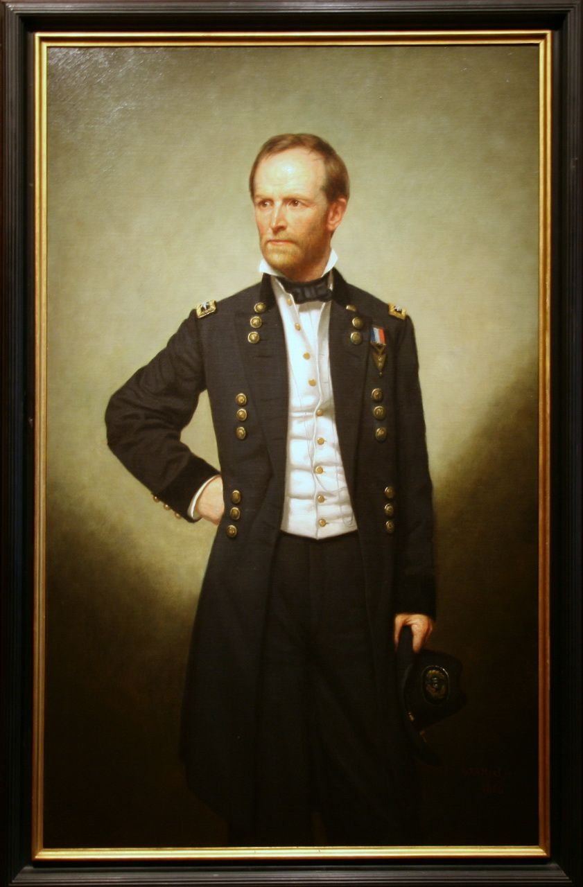 General william tecumseh sherman 1866 by peter