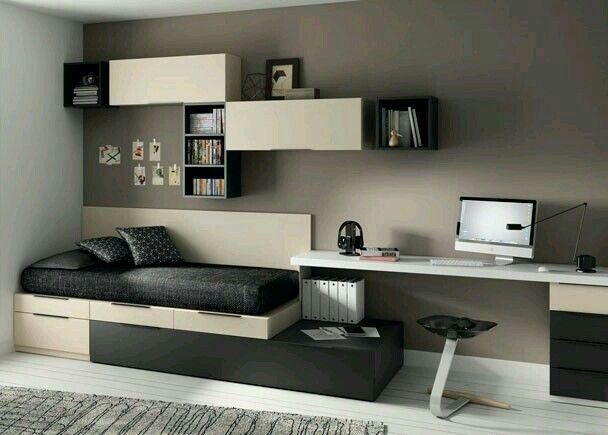 Diseño elegante y sencillo para habitación