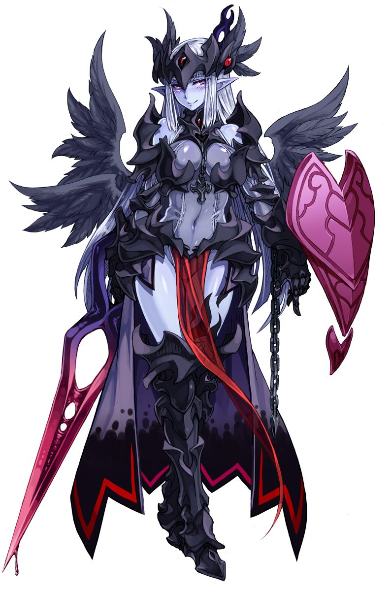 Dark valkyrie monster girl encyclopedia wiki wikia