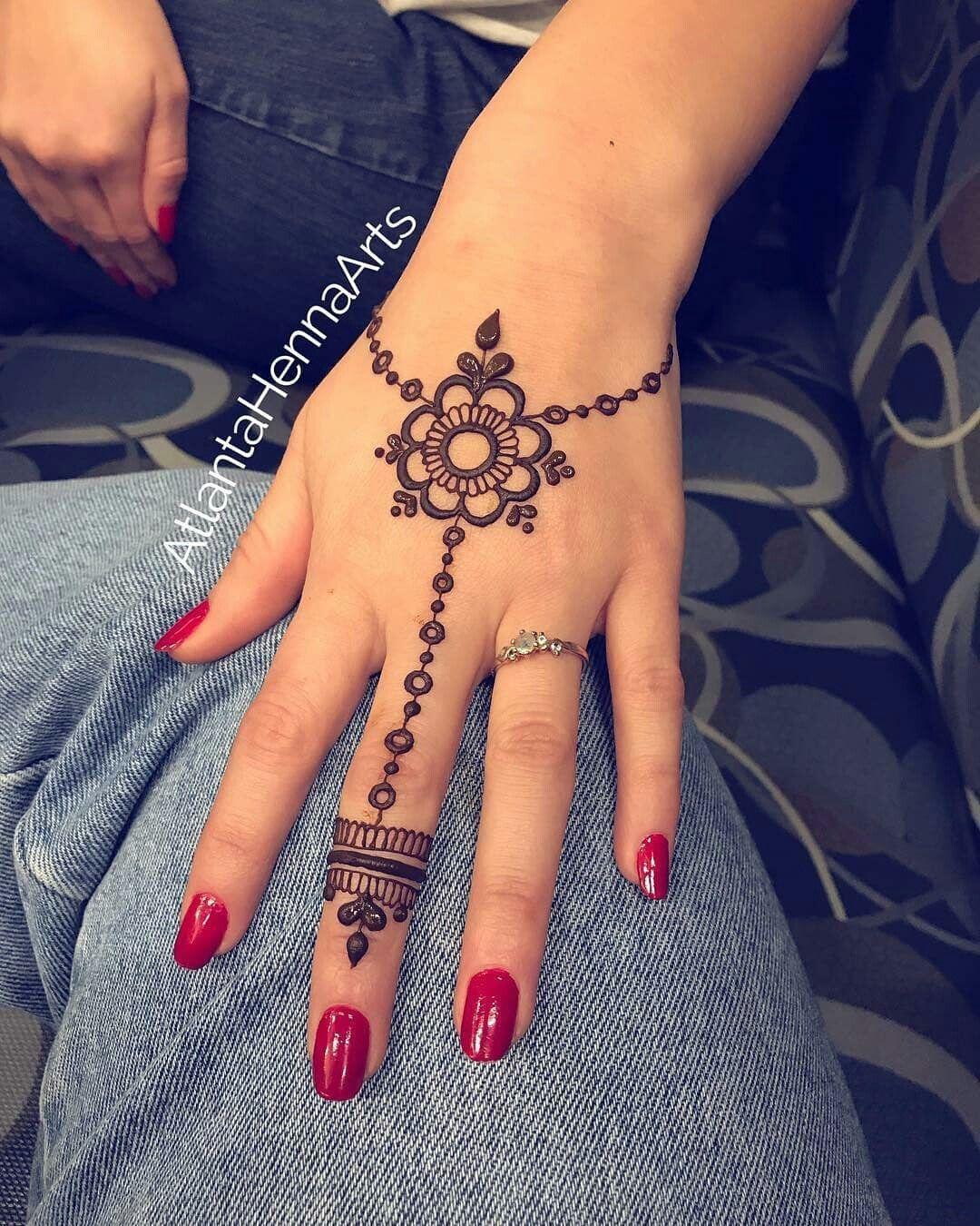 This Is So Cute By Atlantahennaarts Henna Mehndi Simple Henna Tattoo Henna Tattoo Designs Simple Henna Tattoo Hand