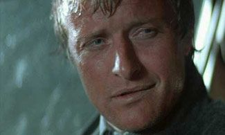 Rutger Hauer - I absolutely love his work, even the foreign and just...bad films.  He always does a fantastic job.  :)