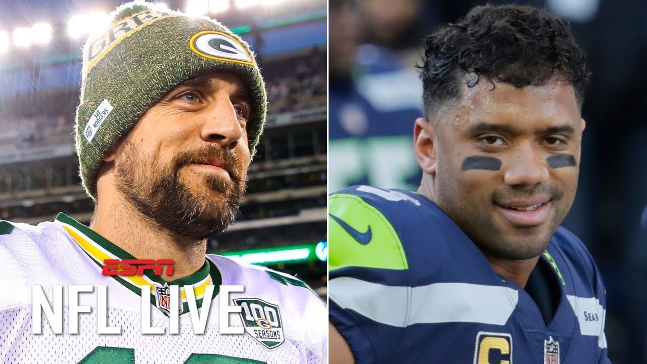 Why Aaron Rodgers Russell Wilson And Matt Ryan Are The Nfl S Most Secure Qbs Nfl Live Matt Ryan Aaron Rodgers Nfl
