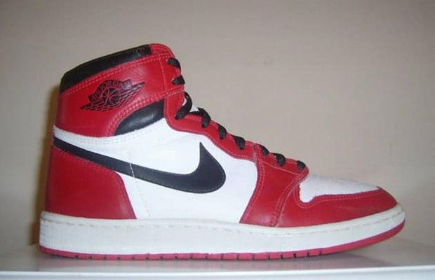 The 80 Greatest Sneakers of the '80s4. Nike Air Jordan