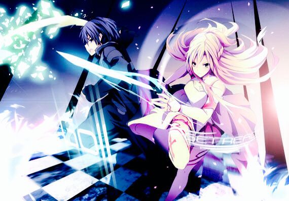 Kirito And Asuna Fight Together Sword Art Online Weapons