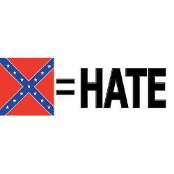 anti confederate flag | antirebel_flag_bumper_bumper_sticker.jpg?color=Clear&height=250&width ...
