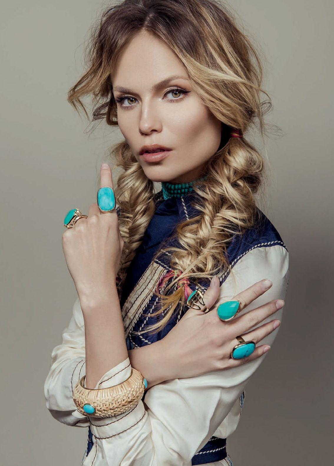 Natasha Poly by Zee Nunes for Vogue Brazil February 2015