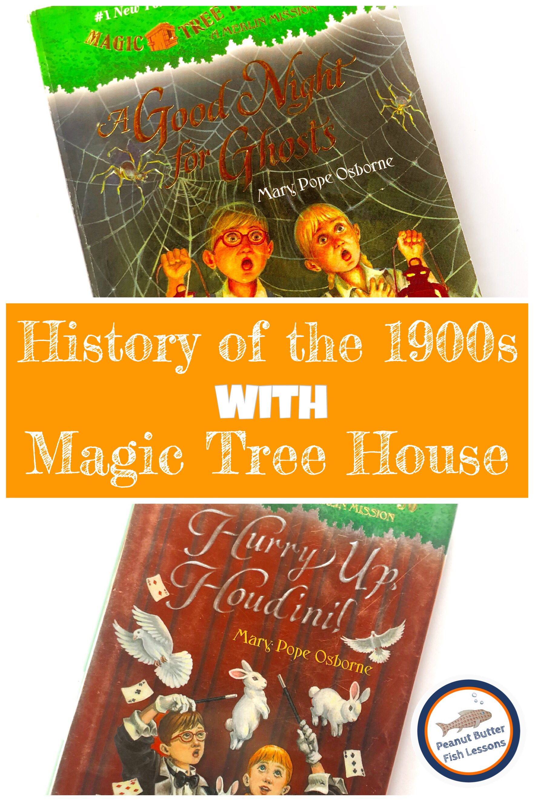 Check out this list of 9 magic tree house books set in the