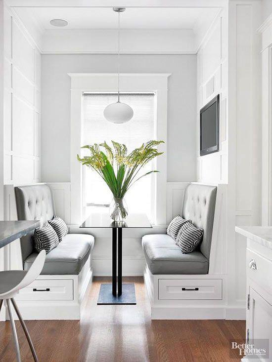 Ideas para poner una mesa comedor en un espacio pequeño | cocina ...
