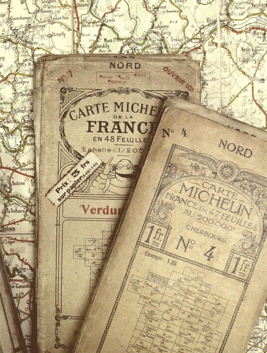 Maps Anciennes Cartes Michelin France Map Vintage Maps Old Maps