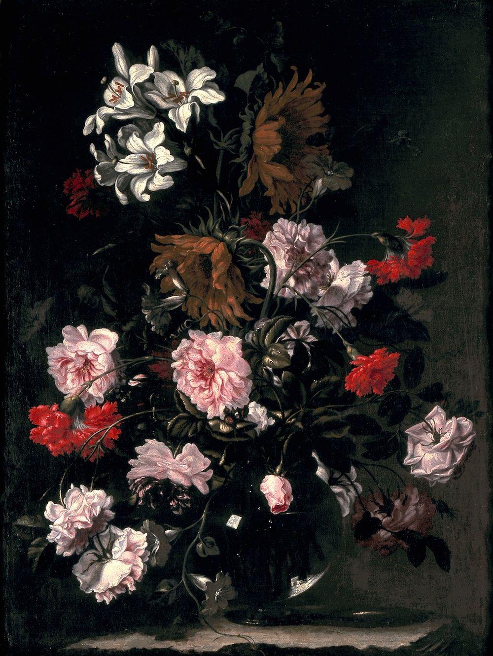 Bartolom Prez Still Life of Flowers in