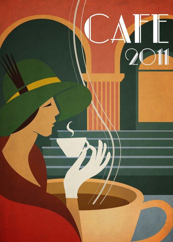 Deco Cafe In Art Deco Design Inspiration Part 2 Art