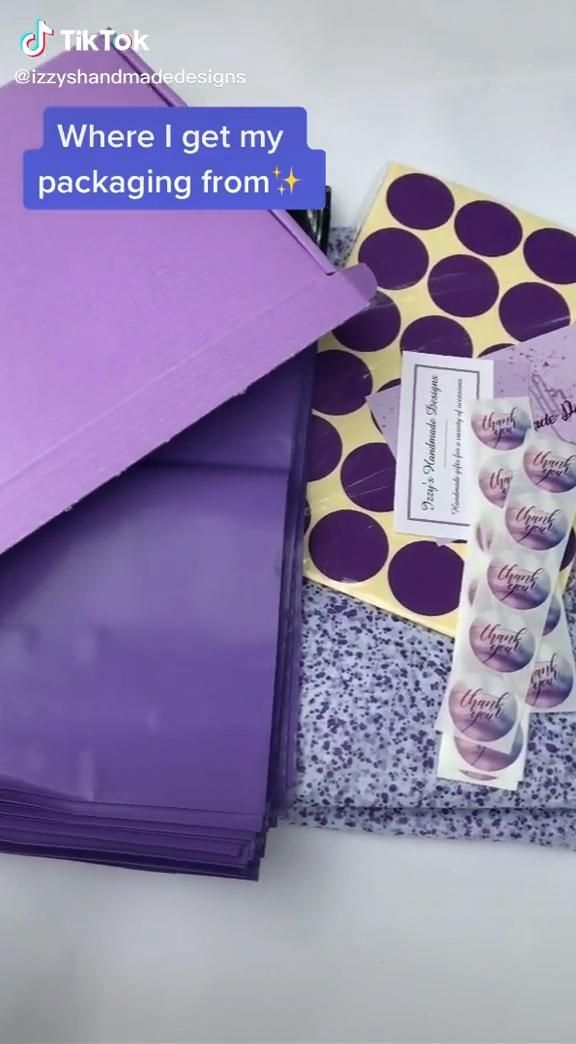 Purple Small Business Packaging Supplies UK