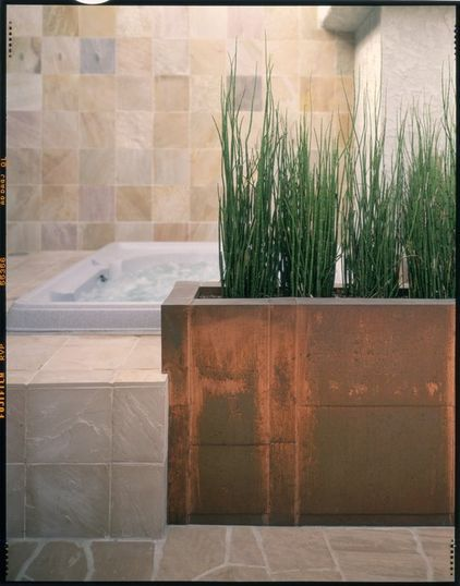contemporary bathroom by Leslie Harris / Interior Design
