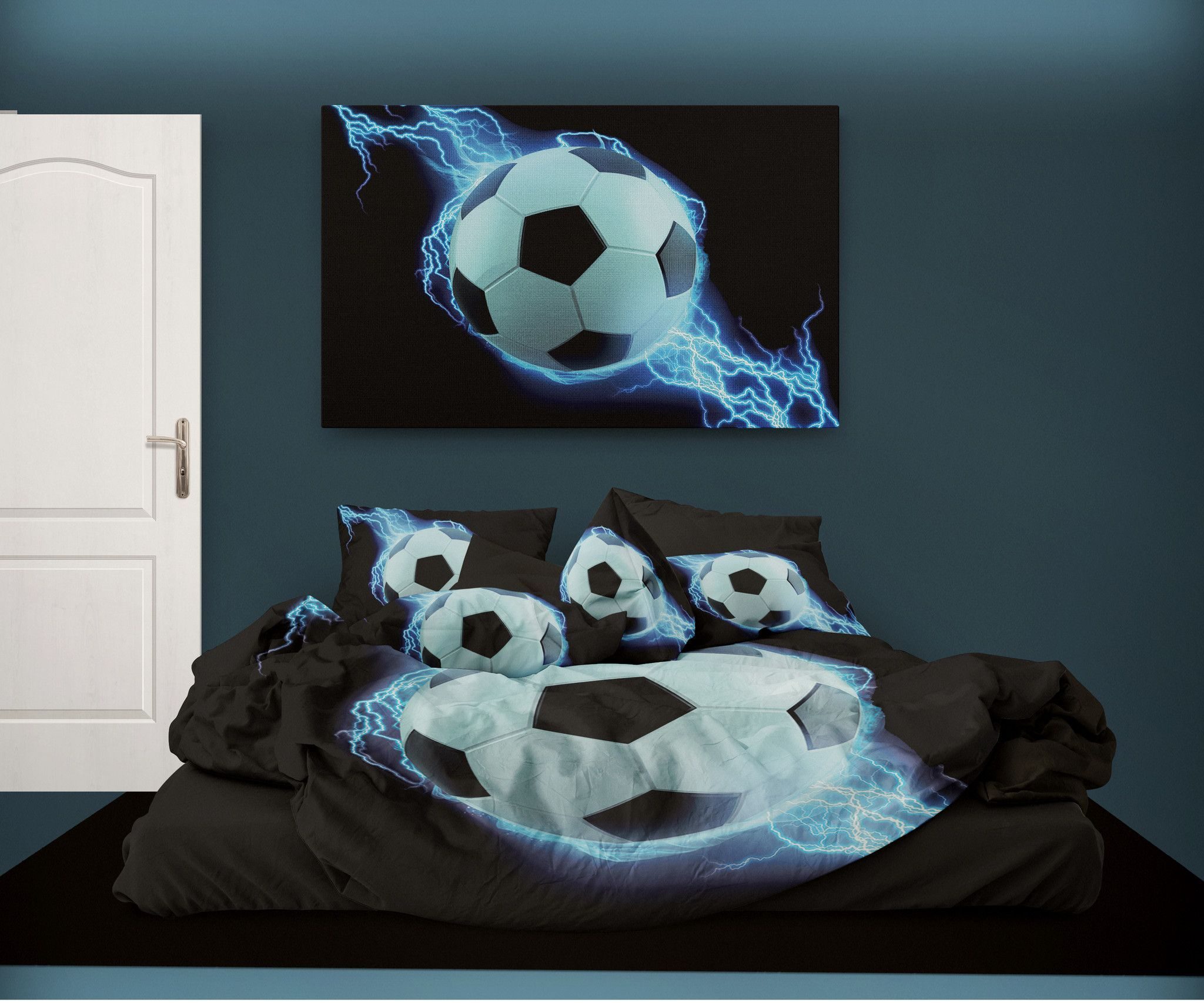 fancy baseball furry kids bed a boys design ip soccer in basketball with size comforter sports blue set teens bedding luxury bu collection football dark twin bag
