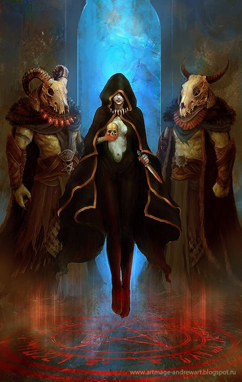Image result for magical ritual fantasy art