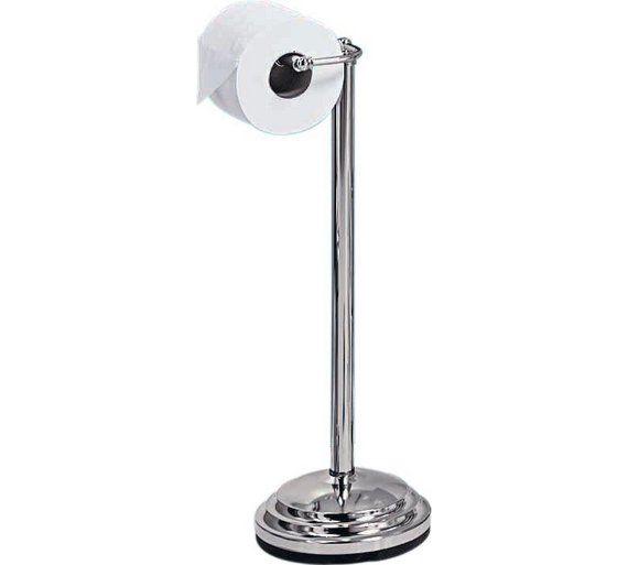 Buy Argos Home Freestanding Toilet Roll Holder Chrome Plated Toilet Roll Holders Toilet Roll Holder Chrome Toilet Roll Holder Bathroom Accessories