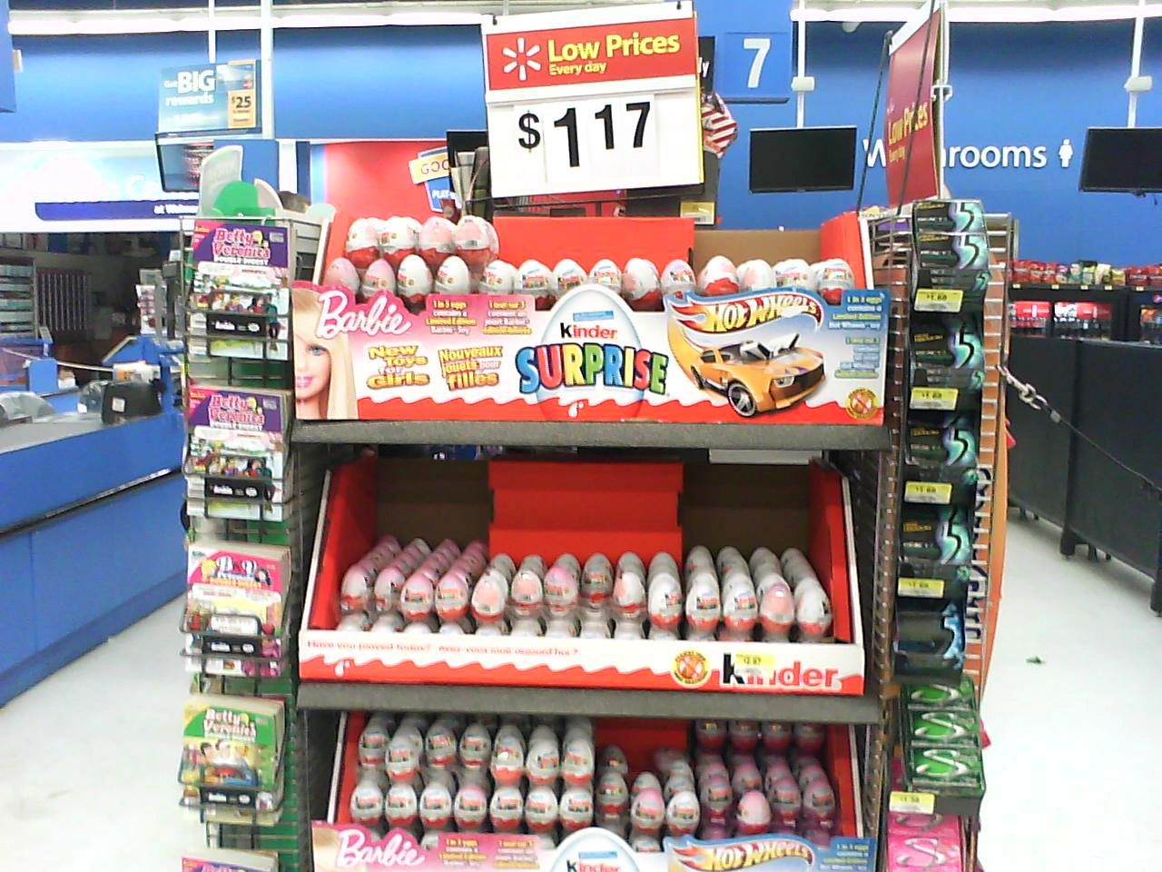Kinder Surprise Eggs Walmart