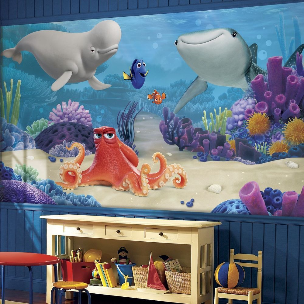 Roommates Finding Dory 6feet x 10.5feet XL Chair Rail