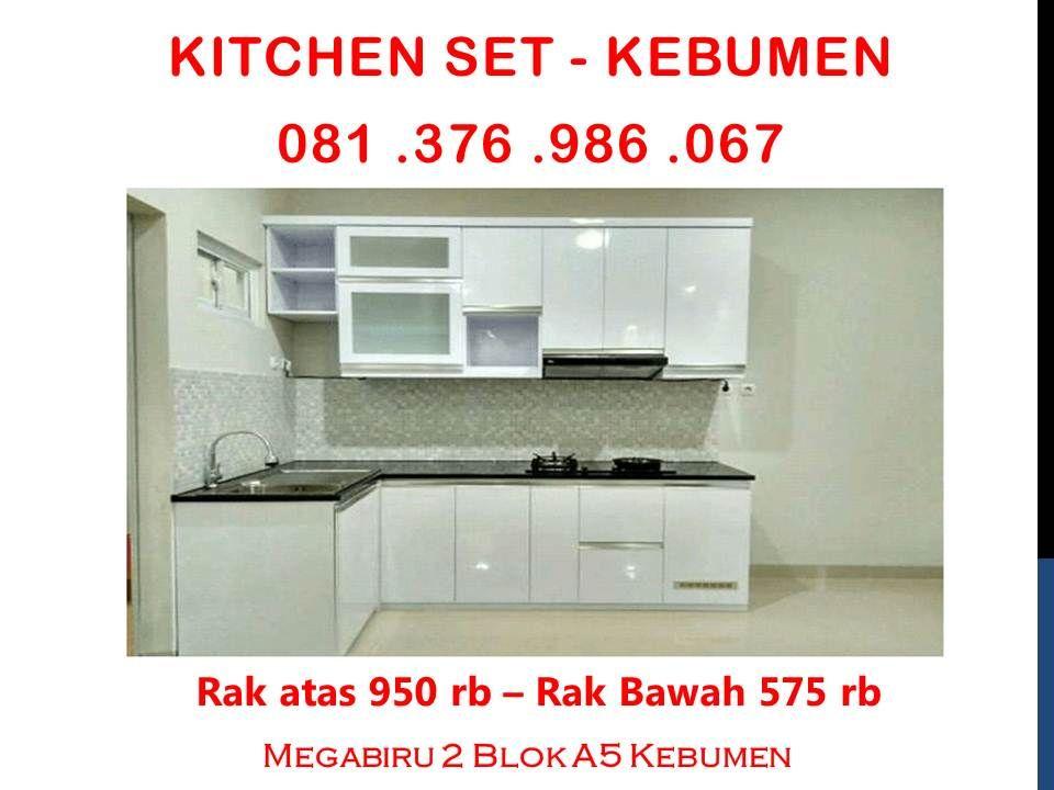 Tukang Kitchen Set Kebumen Tukang Kitchen Set Aluminium Kebumen Kitchen Set Kebumen Ide Dapur Dapur Putih