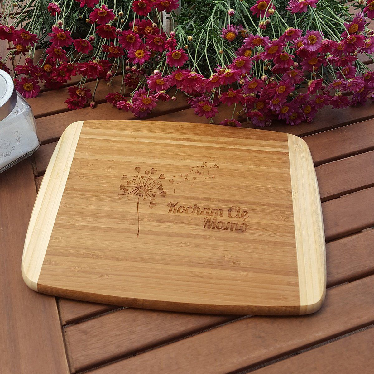 Bamboo Board Florina Claret With Engraver I Love You Mom A Super