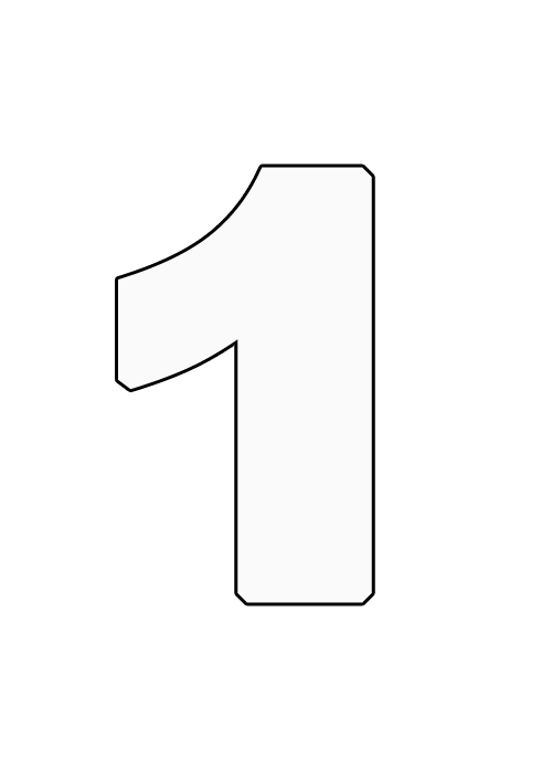 Zahlen Zum Ausdrucken Zahlen Vorlagen Als Pdf Zahlen Vorlagen Ausdrucken Bastelvorlagen Zum Ausdrucken