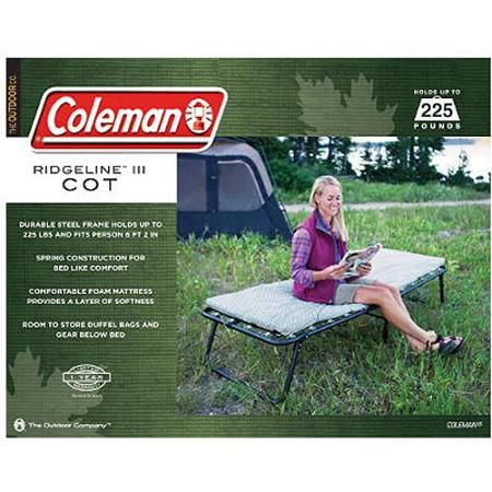Sports Outdoors Camping Cot Camping Bed Coleman