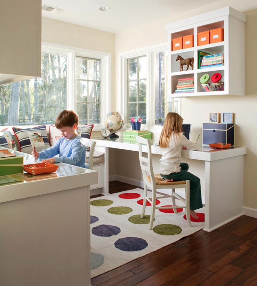 Home Study Room Ideas Kids: Nice Kid's Study Room