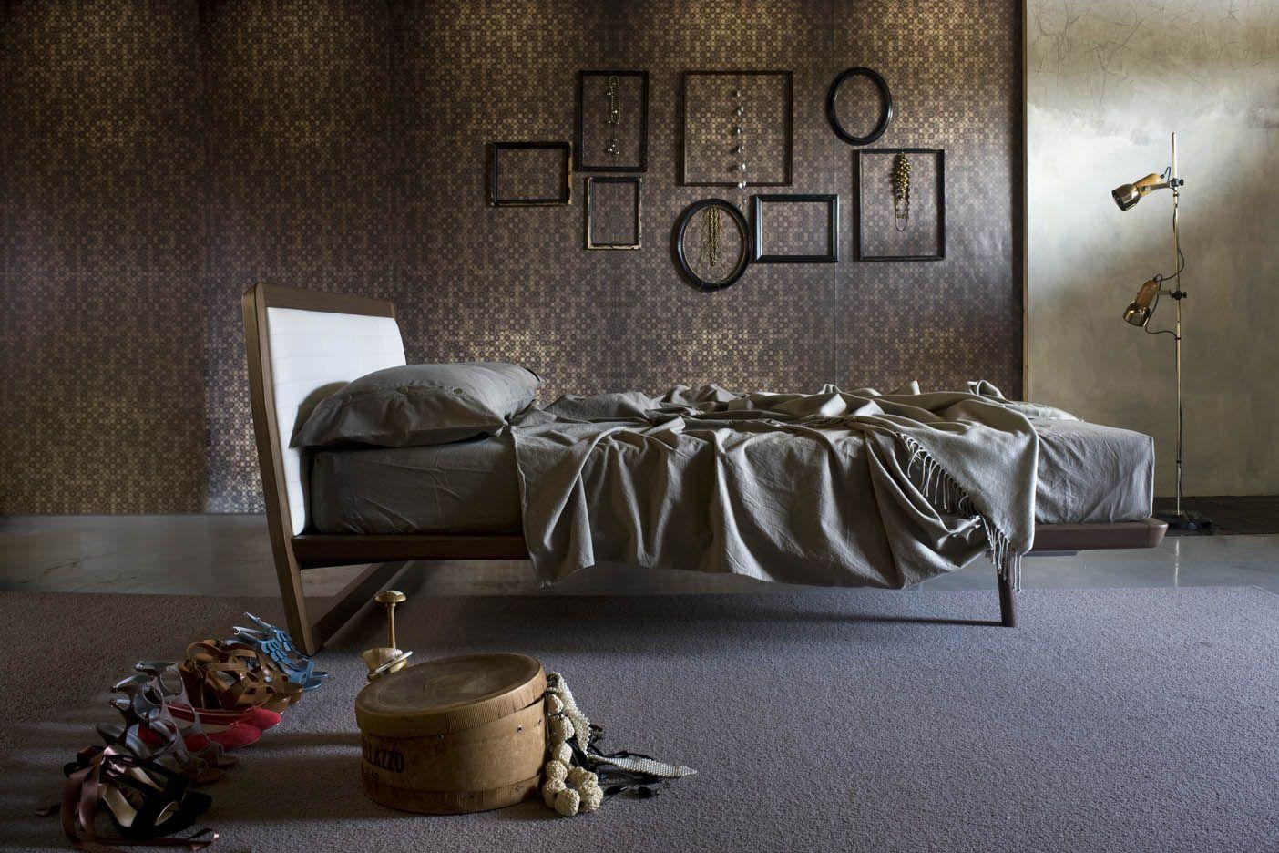 Desirèe letto in legno wood legno home room bedroom