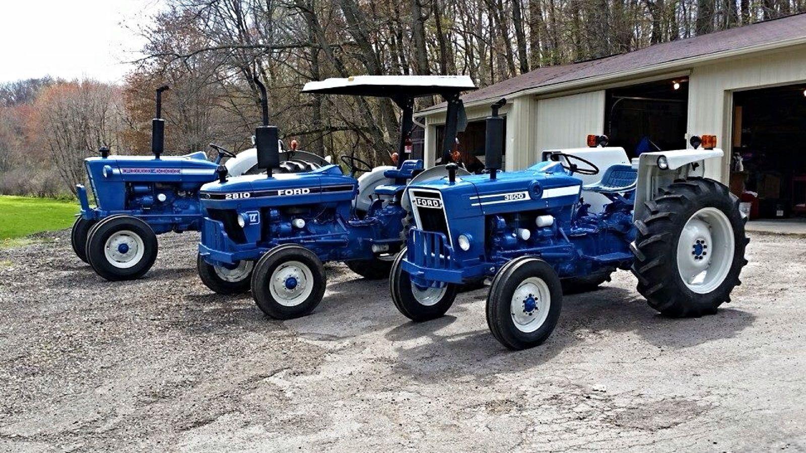 Ford 4000 2810 3600 Antique Tractors Ford Tractors Tractors