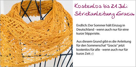 Kostenlos: Strickanleitung für Sommerschal Gracia - fashionworks ...