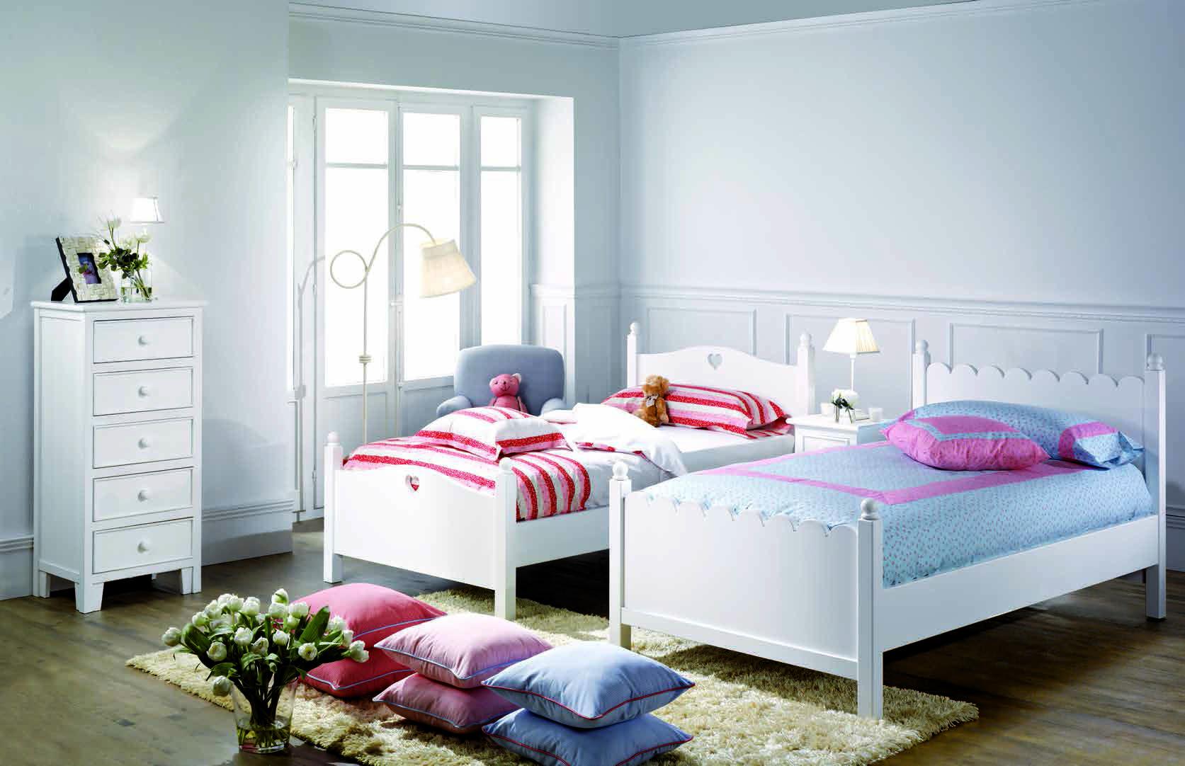 Camas Individuales Lacadas De Diferentes Modelos Dormitorios Individuales Dormitorios Decoración De Habitación Juvenil
