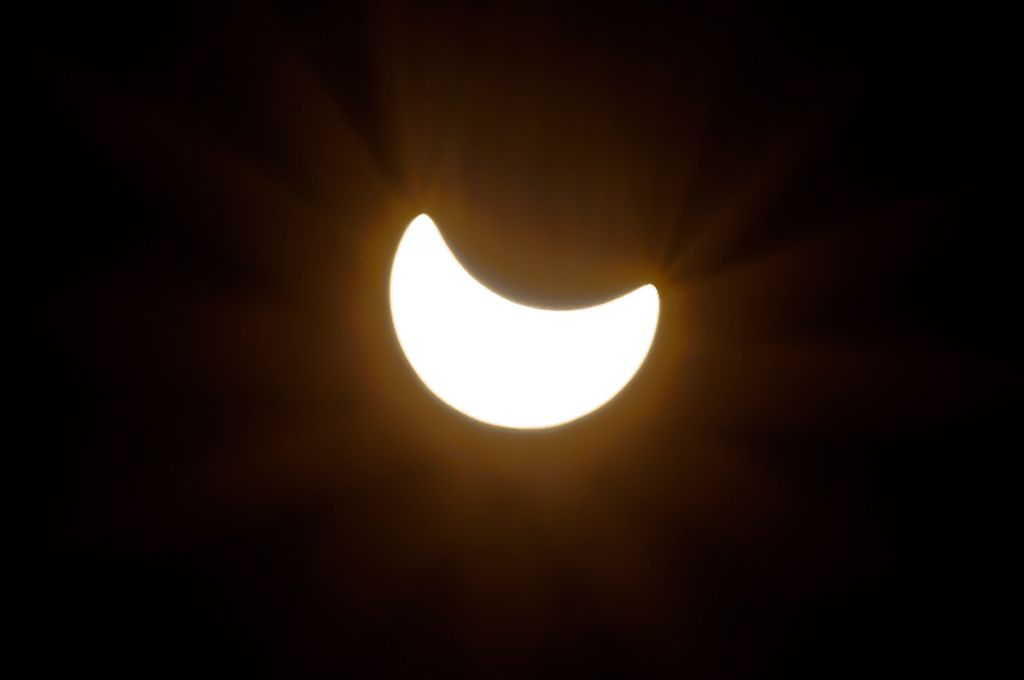 Solar Eclipse View From Zagreb Croatia Location Http Bit Ly 1fmtyge Solar Eclipse Viewing Wall Lights Light