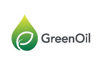 clean oil logo design
